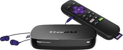 New Sealed Roku Premiere+ Plus 4K HDR Streaming Media Player 4630RW Digital HD