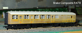 HO/OO LNER Teak Coaches with original boxes