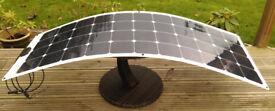 SALE! MOTORHOME SOLAR PANELS 140W fLEXIBLE SOLAR PANELS TITAN ENERGY UK