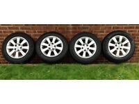Vauxhall/Opel- Astra/Zafira Genuine Alloy Wheels