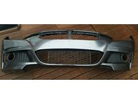 BMW F30 F31 3 Series 2012- Front Bumper M SPORT Mineral Grey GOOD CONDITION
