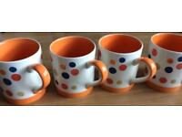 Four mugs Whittard
