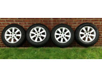 Vauxhall/Opel - Astra/Zafira Genuine Alloy Wheels