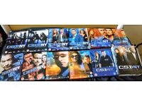 Complete DVD box sets CSI New York series 1-9