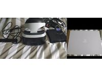 PS VR starter bundle (headset + processor unit + PS camera + game VR worlds)