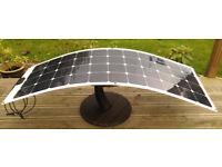 140W Flexible Solar Panel Titan Energy UK Sunpower Solar cells