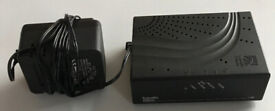 L@@K CISCO BRANDED! ONLY £10!! - WIRED!! Internet Router 4 more secure connection and better speeds!