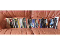 A NEARLY COMPLETE COLLECTION OF DICK FRANCIS BOOKS
