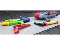 water pistol collection