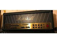 Marshall 350 watt Mode four guitar amp and 4x12 Marshall Cab