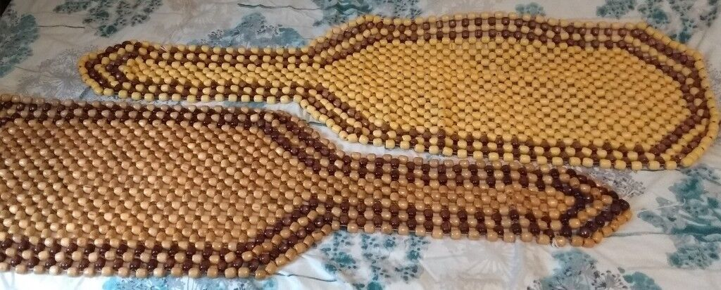 Wooden Bead Car Seat Covers