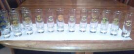 Hard Rock Cafe shot glasses