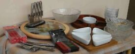 JOB LOT OF TABLEWARE IDEAL FOR PARTIES/BUFFETS