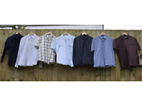 Joblot of (7) Mixed Mens Shirts