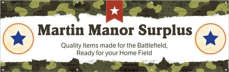 Martin Manor Surplus