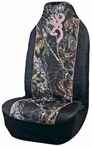 Browning  Camo Seat Covers with Pink Trim