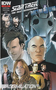 Star Trek Tng Doctor Who Assimilation 1 3rd Print