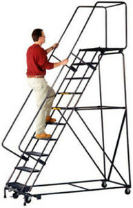 Warehouse 10 step Ladder