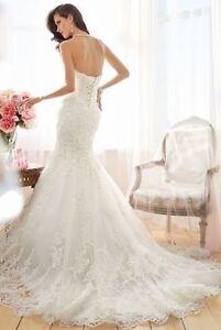 FIT AND FLARE WEDDING DRESS Sarnia Sarnia Area image 2