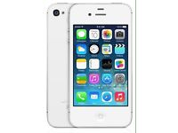 iPhone 4s White 8gb Good condition £60 only
