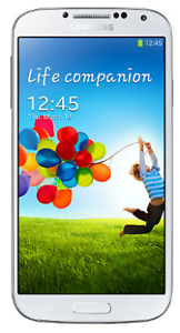 White Samsung Galaxy S4 Phone