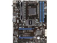 MSI 990fx gd65 am3 motherboard