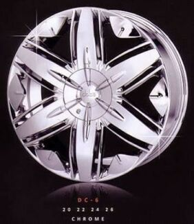Dolce DC6 Chrome Wheels