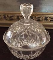 Crystal Candy Dish by Royal Crystal Rock - Made in Italy