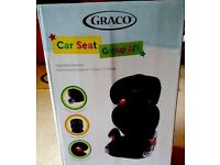 Graco Junior Maxi Car Seat Group 2/3 Carseat 4 - 12 Yrs - NEW