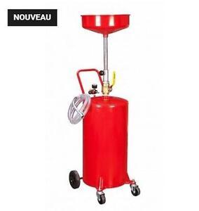 Vidangeur d'huile 20 gallons Professionelle