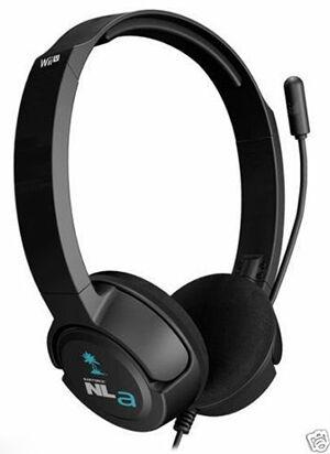 Wii U stereo headset