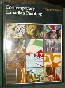 book.. contemporary canadian painting by william withrow, signed