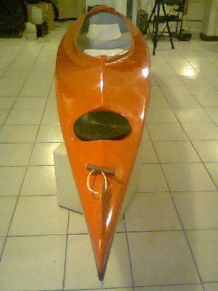 kayak  doble abierto ferrini