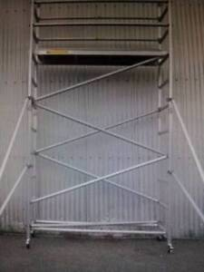 Aluminium Mobile Scaffold 3m High Sale! Email:  Dandenong South Greater Dandenong Preview