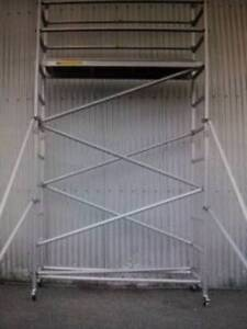 Brand New Aluminium Mobile Scaffold 4m High for Sale! $991+GST Revesby Bankstown Area Preview