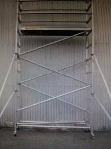 Brand New Aluminium Mobile Scaffold 4m High for Sale! $932+GST! Dandenong South Greater Dandenong Preview