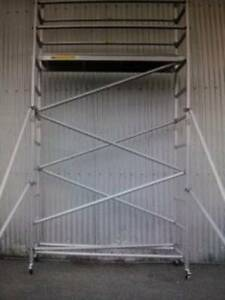 Aluminium Mobile Scaffold 3m High for Sale! Revesby Bankstown Area Preview