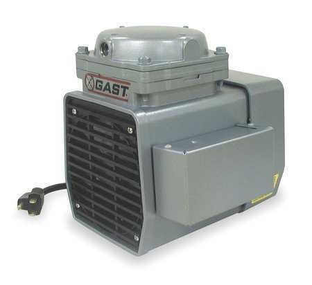 Gast Doa-P707-Fb Compressor/Vacuum Pump,1/3 Hp,50/60 Hz,