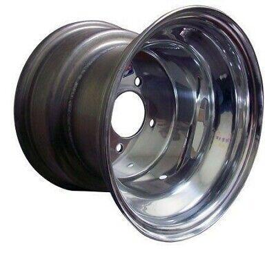10x8 Polished Aluminum Rim from Douglas for Golf Cart, Kart, Rim, EZGO, Racing