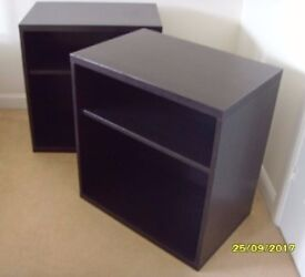 *** REDUCED PRICE *** Two Ikea Besta Shelf Units to Go. Collection Only. Ends Tomorrow Morning.