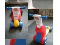 Fisher price 2in1 scooter