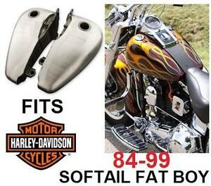 NEW GAS TANK FOR HARLEY FAT BOY - 112022291 - Extra-Capacity Fat Bob - 84-99 Harley-Davidson Softail Fat Boy FLSTF MO...