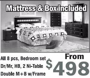 FURNITURE MATTRESS LIQUIDATION TODAY LOWEST PRICE IN GTA QUEEN EUROTOP MATTRESS ONLY $198 WE DELIVER IN STOCK