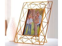 Copper Coloured Phot Frame