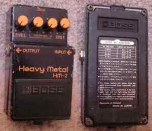 1985 Boss HM-2 Heavy Metal