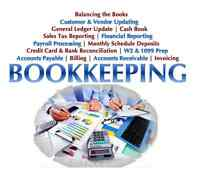 Bookkeeping Services - Fast, accurate and AFFORDABLE
