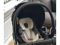 Isofix bases and car seat
