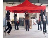 POP UP GAZEBO WITH SIDE PANELS 10FT X 15FT BARGAIN PRICE £150!! RRP £500 HUGE £350 SAVING!!!