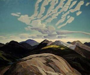 """Limited Edition """"Hilltops"""" by Franklin Carmichael"""