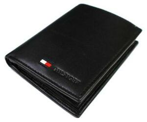 abbbf578 Tommy Hilfiger Black Leather Wallet
